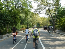 cycling central park