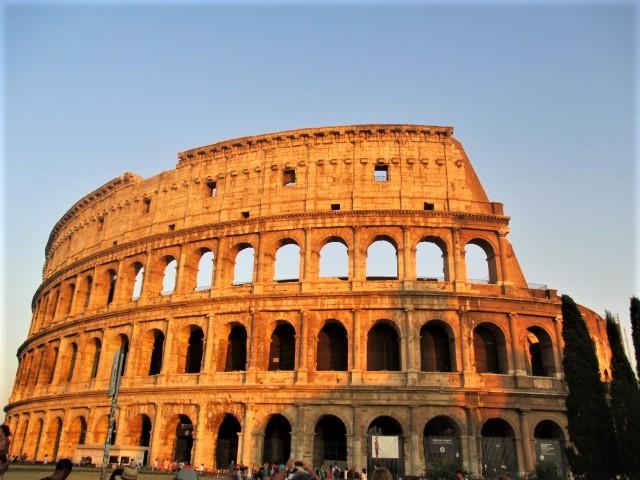 rome-colosseum-sunset