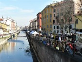 milan navigli market