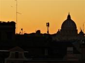 rome sunset