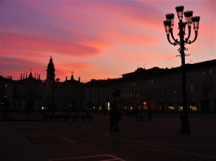 turin sunset
