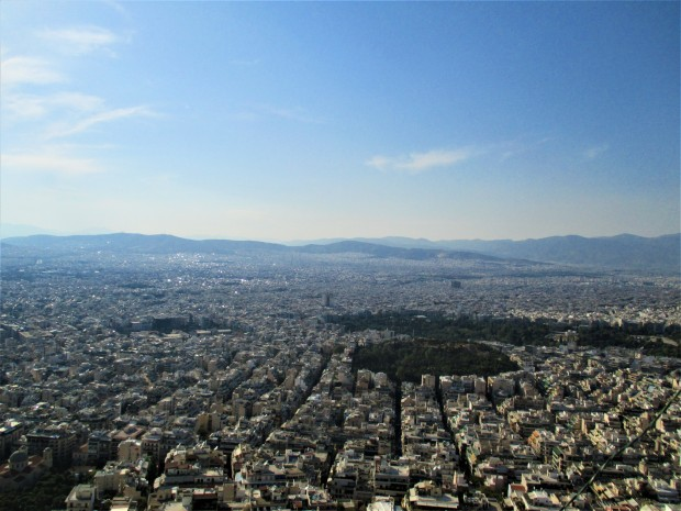 Athens from Lycabettes Hill