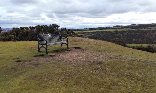 Edinburgh Blackford Hill Bench