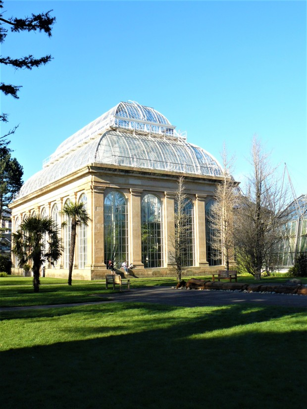 Edinburgh Botanic Gardens glasshouse