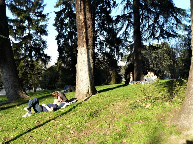 milan-couple-relaxing-in-park