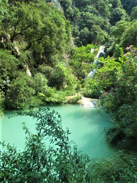 Pelopponese waterfall