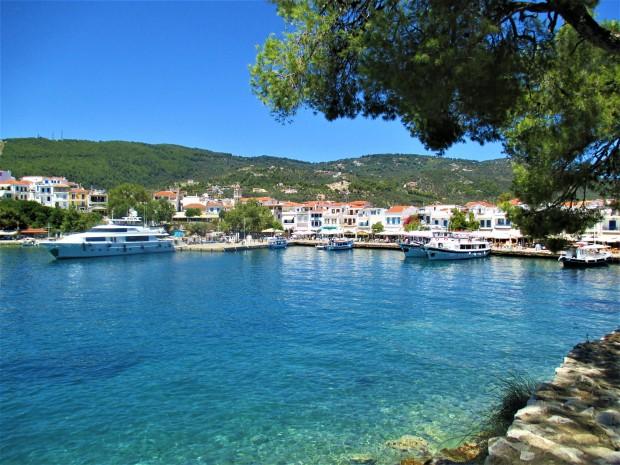 SKiathos town water