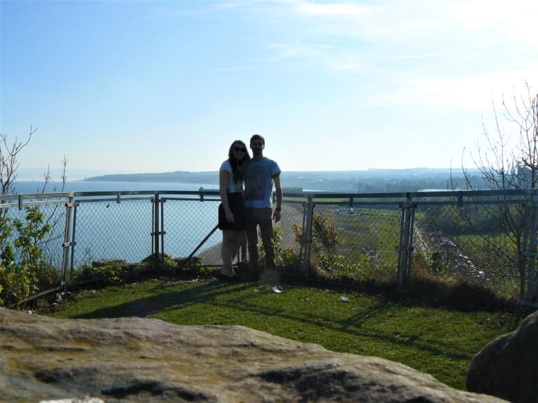 Ravenscraig Castle view