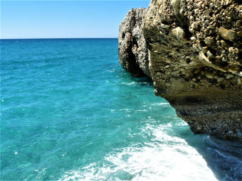 blue nerja water