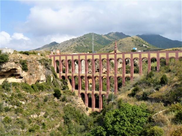 red nerja aqueduct
