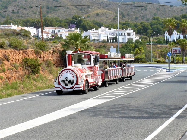 red nerja train