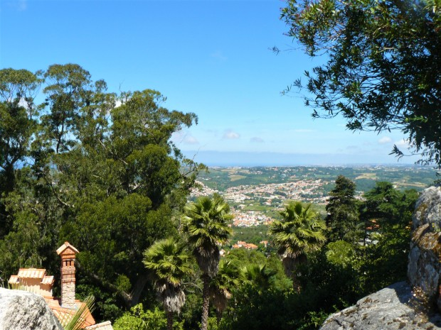 sintra walk to castle 2
