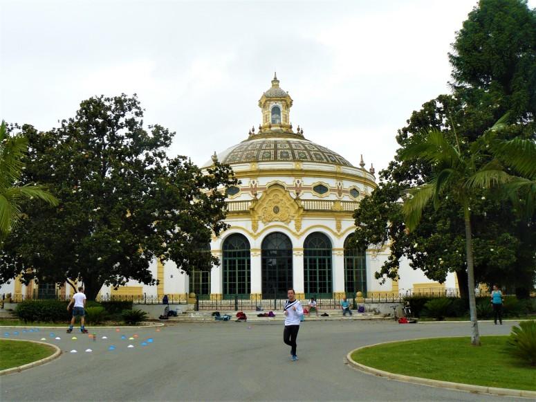 yellow sevilla building
