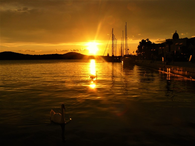 sibenik sunset 1