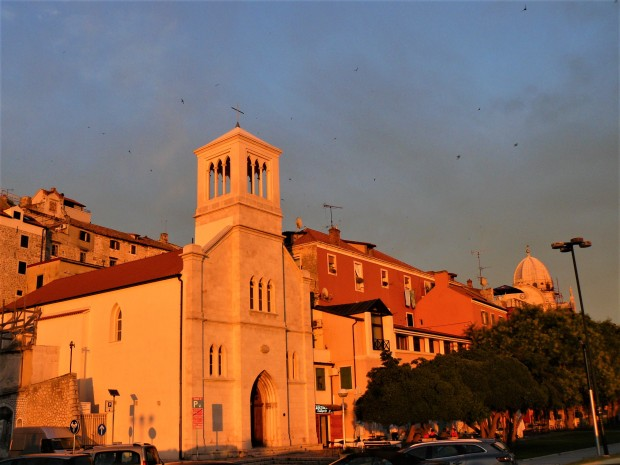 sibenik sunset 2