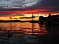 sibenik sunset croatia