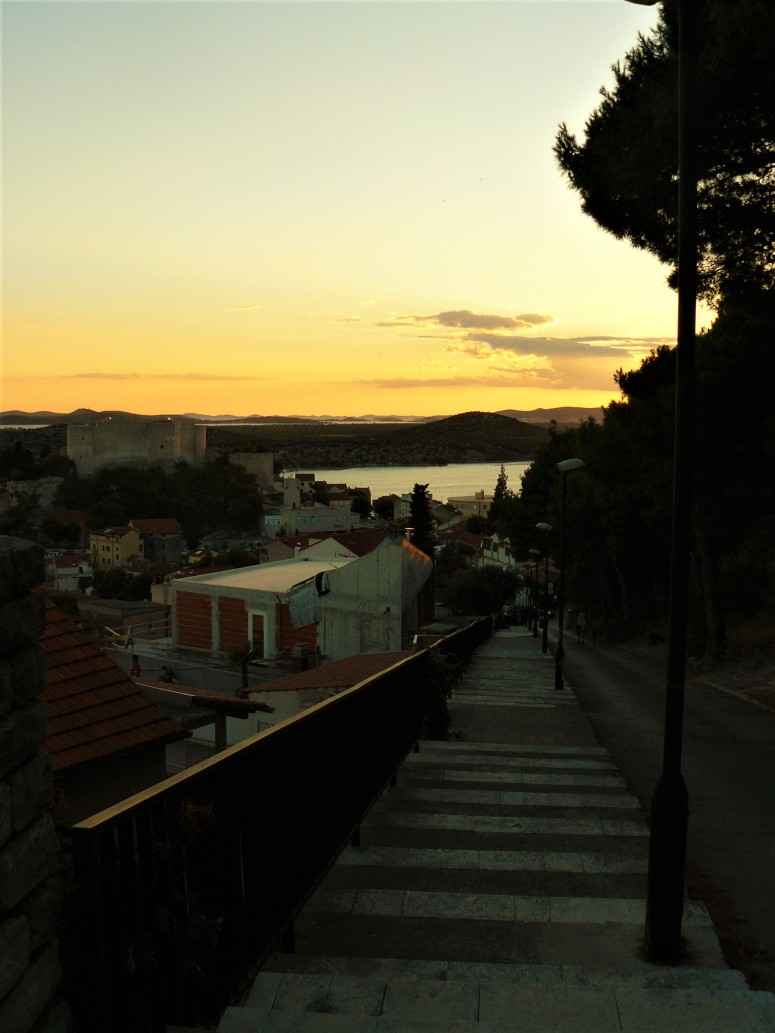 sibenik sunset fortress 2
