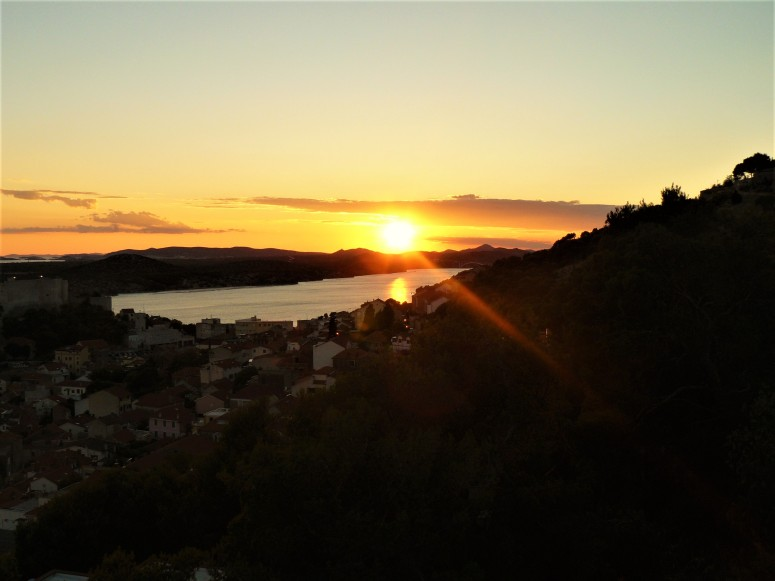 sibenik sunset fortress 3