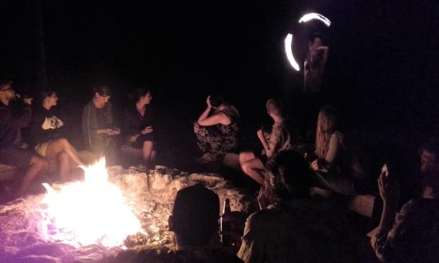 montenegro camp fire