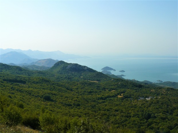 montenegro view lake skadar