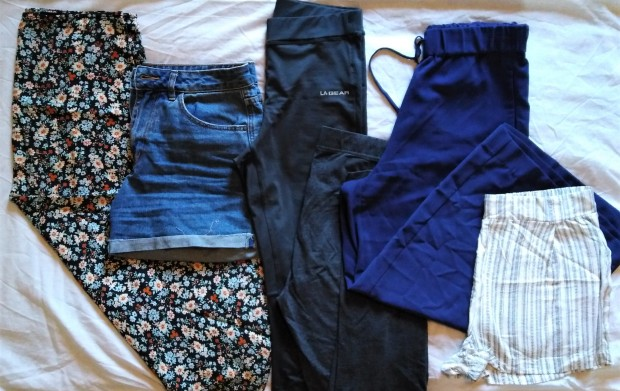 capsule travel wardrobe bottoms