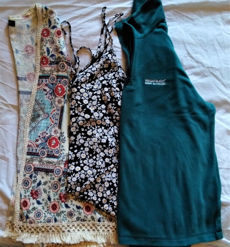 capsule travel wardrobe extras