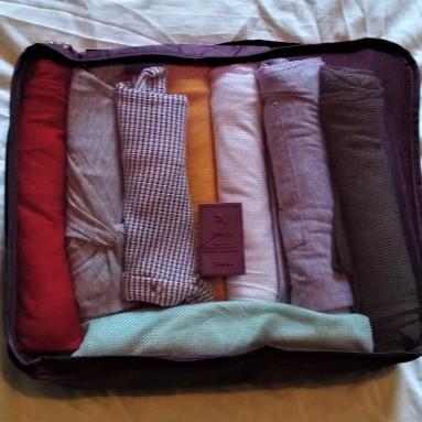 capsule travel wardrobe packing cube 3