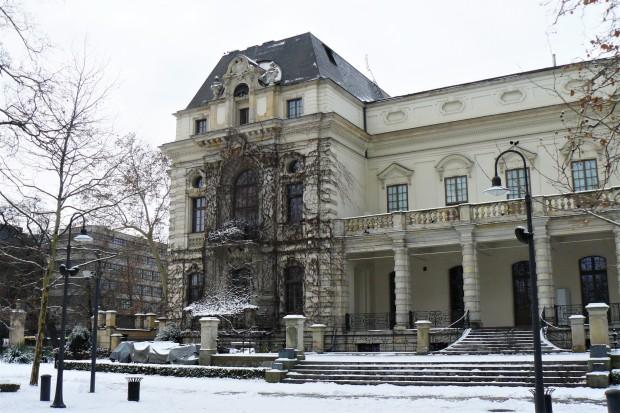 wroclaw park snow 2