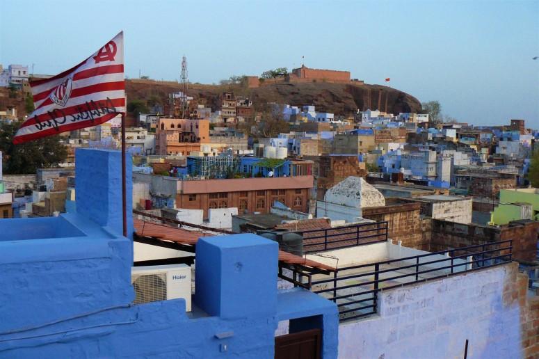 jodhpur sunset blue city