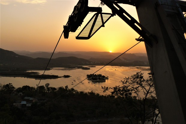 udaipur sunset 2