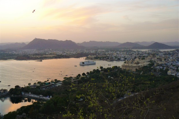 udaipur sunset 3