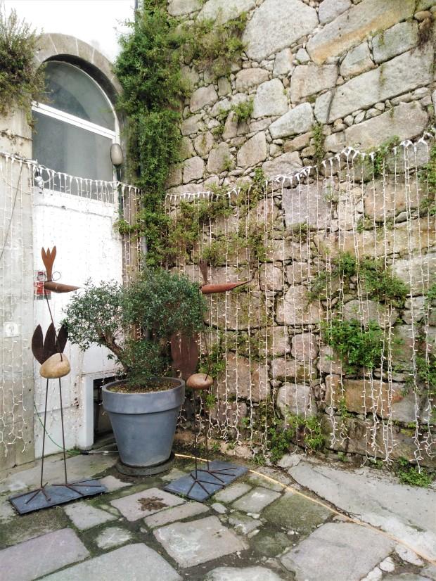 Porto courtyard
