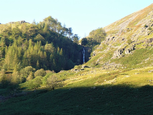 lake district morning 2 taylor gill force