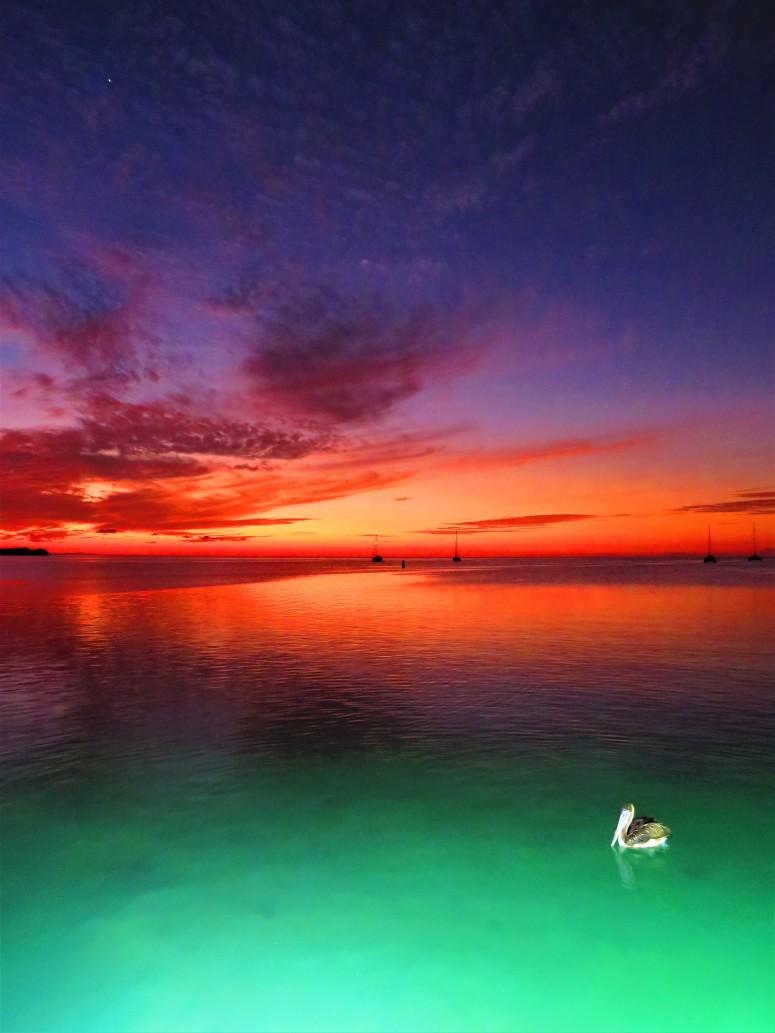 Belize Caye Caulker Sunset 12