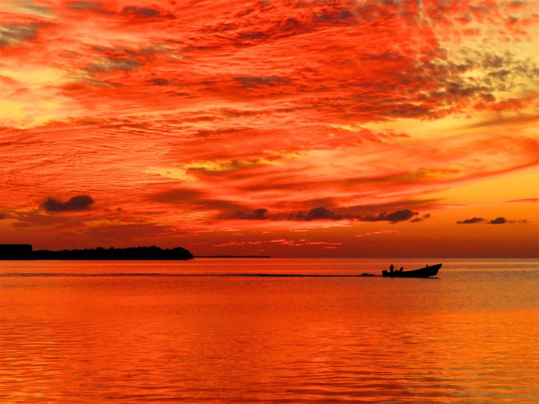 Belize Caye Caulker Sunset 8