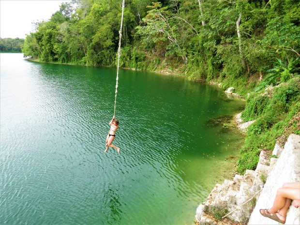 Guatemala Flores Jorges Rope Swing 1